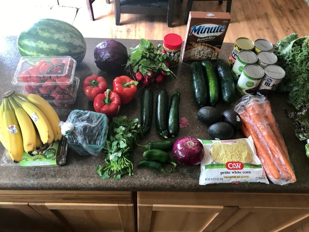 Food haul week