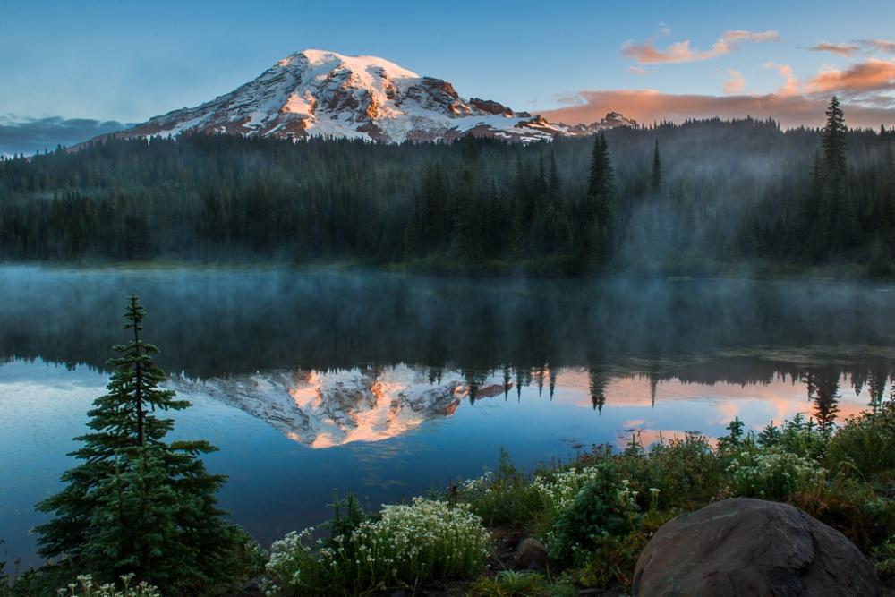 Reflection Lake by Ian McRae